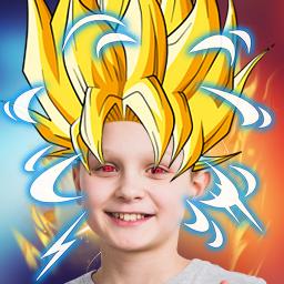 Super Power Photo Makeover App 💥 Anime Stickers