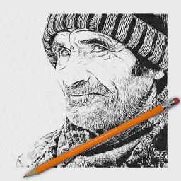Magic Pencil Sketch Effect