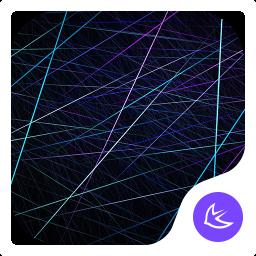 MIXED LINE-APUS Launcher theme