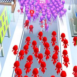 Crowd Run - City Of Wars