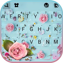 Roses Flower Keyboard Theme