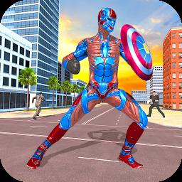 Superhero Captain Robot Games: Superhero Game 2021
