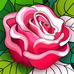 Hey Color Paint by Number Art & Coloring Book
