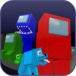 Mod Among Us for Minecraft PE + Skins & Map