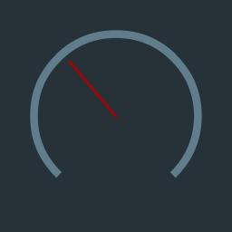 Status Bar Speedometer