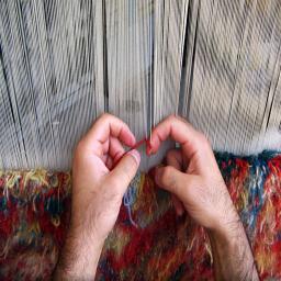 هنرهای کاربردی(قالی و گلیم بافی)