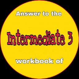 جواب کتاب کار intermediate 3