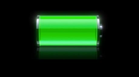 نمایش درصد شارژ باتری و دمای باتری