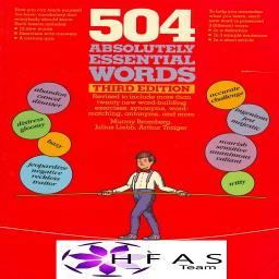 تدریس صوتی و تصویری کتاب 504 لغت