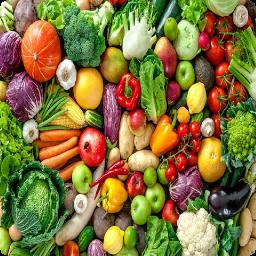 انواع غذا با صیفی جات