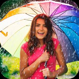 افکت حرفه ای بارانی