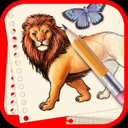 آموزش کشیدن نقاشی حیوانات و حشرات