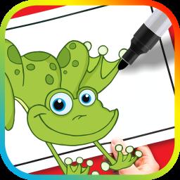 نقاشی کارتونهای جذاب برای کودکان