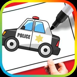 آموزش نقاشی وسائل نقلیه به کودکان
