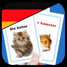 آموزش لغات آلمانی با فلش کارت گویا