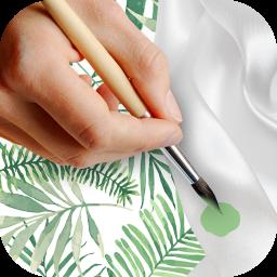 آموزش طراحی و نقاشی روی پارچه