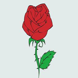 آموزش گام به گام رسم گلهای زیبا