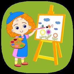 نقاش کوچولو (گام به گام نقاشی)