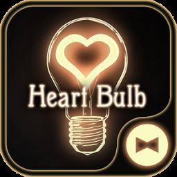 Cute Wallpaper Heart Bulb Theme