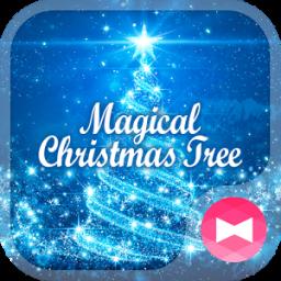 Dreamy Wallpaper Magical Christmas Tree Theme