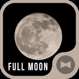 Stylish Wallpaper Full Moon Theme