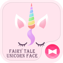 Cute Wallpaper Fairy Tale Unicorn Face Theme