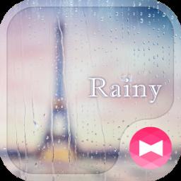 Rainy +HOME Theme
