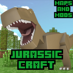 Jurassic park maps and mods for Minecraft