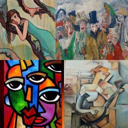 معرفی سبک های نقاشی