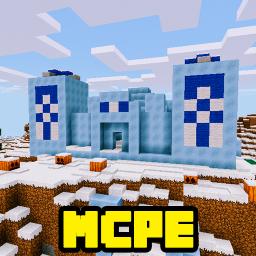 The Arctic Village Minecraft Map