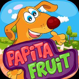 پاپیتا میوه و سبزیجات انگلیسی