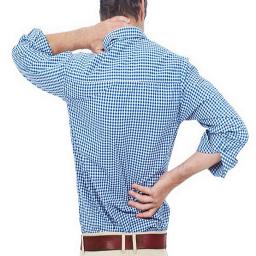 مبارزه با کمر درد