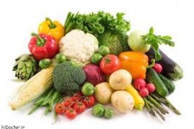 خواص مواد غذایی, میوه ها, سبزیجات ها