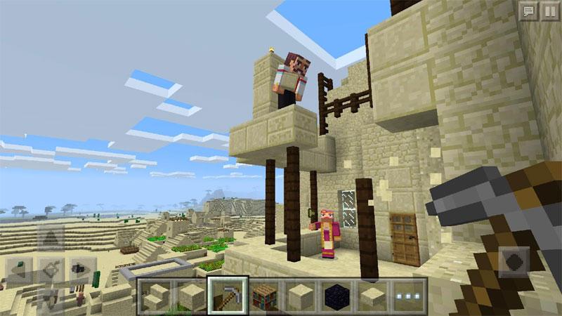 ماین کرافت - دانلود بازی ماینکرافت نسخه جدید [ minecraft جیبی ]
