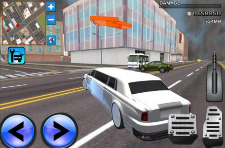 اسکرین شات بازی Limo Driving 3D Simulator 2