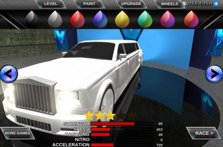 اسکرین شات بازی Limo Driving 3D Simulator 3