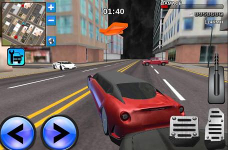 اسکرین شات بازی Limo Driving 3D Simulator 4