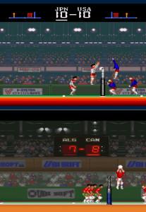 اسکرین شات بازی والیبال سگا 1