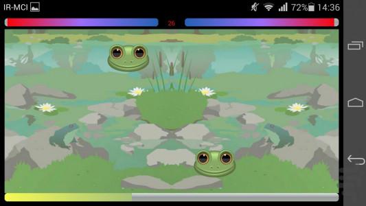 اسکرین شات بازی قورباغه را بگیر 4