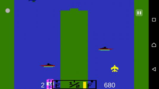 اسکرین شات بازی هواپیمای آتاری 1