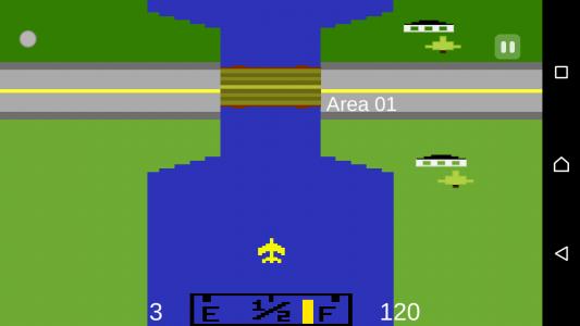 اسکرین شات بازی هواپیمای آتاری 2