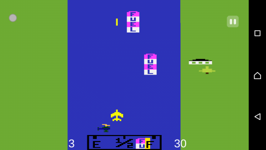 اسکرین شات بازی هواپیمای آتاری 3