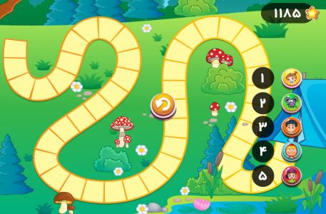 اسکرین شات بازی منچ جنگل 7