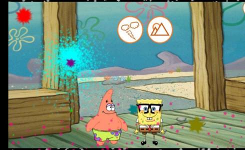 اسکرین شات بازی باب اسفنجی و پاتریک 3
