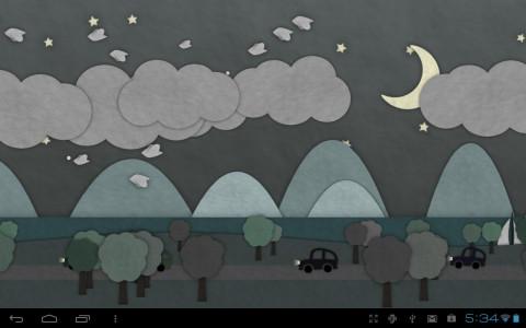 اسکرین شات برنامه Paperland Live Wallpaper 2