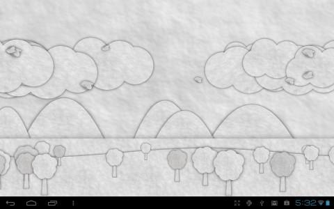 اسکرین شات برنامه Paperland Live Wallpaper 4