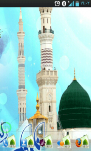 اسکرین شات برنامه تم حضرت محمد (ص) برای گولانچر 1