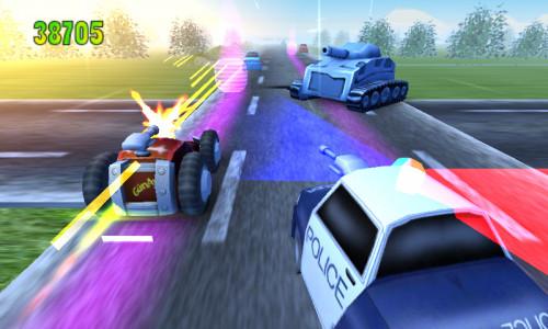 اسکرین شات بازی جدل بر روی سرعت 4