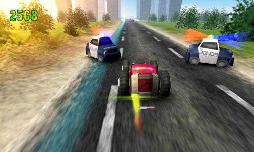 اسکرین شات بازی جدل بر روی سرعت 2