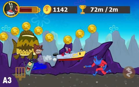 اسکرین شات بازی باب اسفنجی ستاره ۲ 4